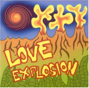 Love Explosion - April 2001 - framsidan